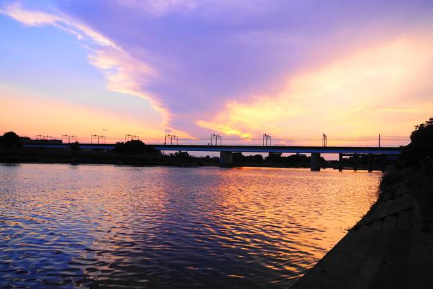 190605_81Y_夕景の川・S18200(多摩川) (63)