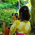 Photos: 180607_N01_紫陽花とともに・S18200・α60(明月院) (6-0)