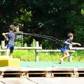 Photos: 180810_04_水鉄砲で・S18200・α60(公園) (25)