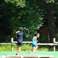 Photos: 180810_04_水鉄砲で・S18200・α60(公園) (21)
