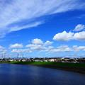 200911_01A_青空と雲・RX10M3(鶴見川) (16)