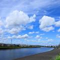 Photos: 200911_06A_青空と雲・RX10M3(鶴見川) (6)