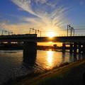 Photos: 210723_45Y_夕方の橋梁・RX10M3(多摩川) (30)