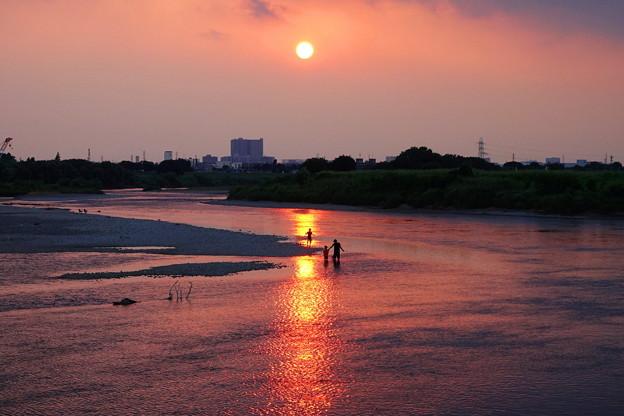 210827_52Y_夕景の川・RX10M3(多摩川) (117)