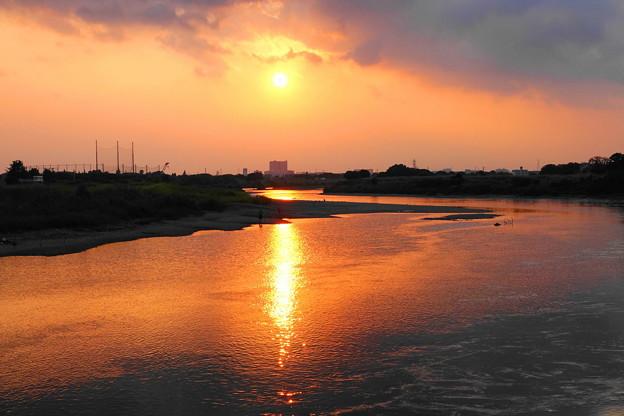 210827_52Y_夕景の川・RX10M3(多摩川) (6)