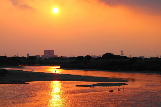 210827_52Y_夕景の川・RX10M3(多摩川) (23)