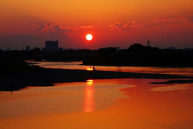 210828_54Y_夕景の川・RX10M3(多摩川) (40)