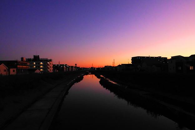 210919_64Y_夕景・RX10M3(矢上川) (22)