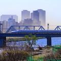 Photos: 200324_01S_新幹線・土埃の中・RX10M3(多摩川) (11)