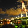 201217_35Y_大師橋の夜景・RX10M3(多摩川) (1-E)