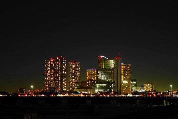 201222_71M_夕闇の武蔵小杉ビル群・RX10M3(多摩川) (5)