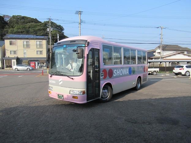 昭和自動車 日野リエッセ 佐賀200あ・124