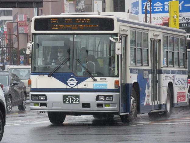 大分バス 日野ブルーリボン 大分22か2122