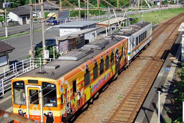 2号+普通列車