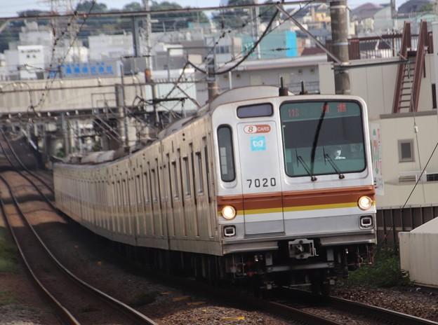 副都心線7000系 7020F(8連)