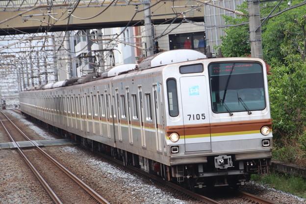 副都心線7000系 7105F