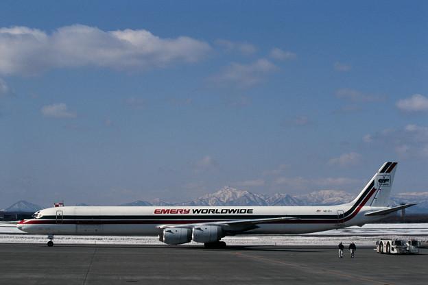 DC-8-73CF N870TV EmeryWorldwide CTS 1997