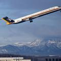 MD-81 JA8552 JAS CTS 1997