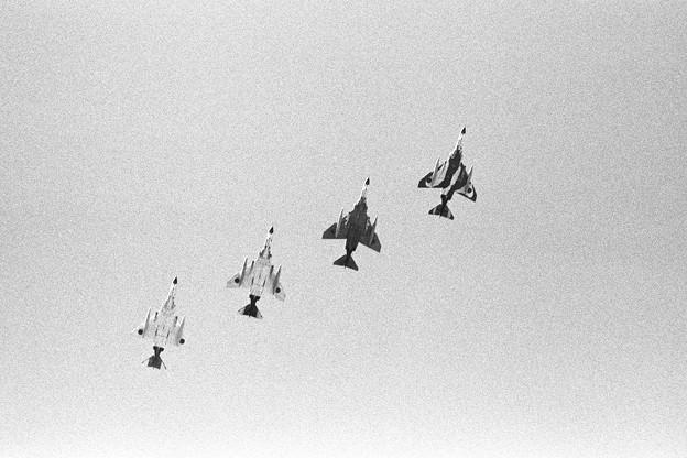 F-4EJ 千歳基地祭展示飛行 302sq 1979
