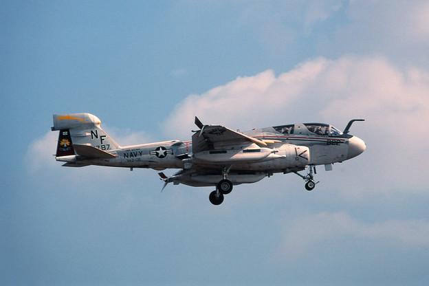 EA-6B 160787 NF-622 VAQ-136 Atsugi 1981