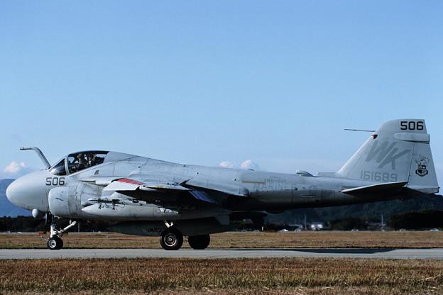 A-6E 161689 WK-506 VMA(AW)224 RJFZ 1987