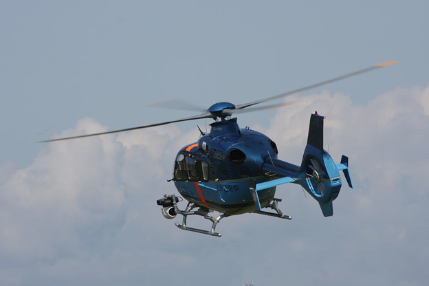 Eurocopter EC135 JA02HP ぎんれい2号道警 2008