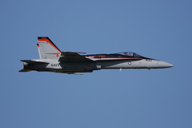 FA-18C VFA-94 400 Mighty Shrikes US NAVY 2008