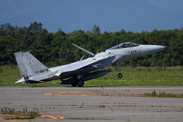 F-15J 8879 203sq 着陸滑走 2006