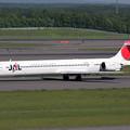 Photos: MD-90 JA8066 JAL CTS 2008