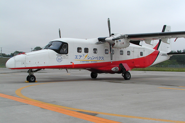 Dornier Do228 JA8866 Air Shenpix HKD 2004