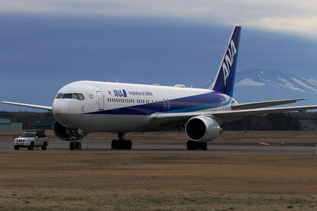 Boeing 767 JA617A stay