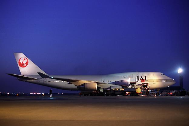 Photos: B747-446 JA8073 JAL CTS 1990
