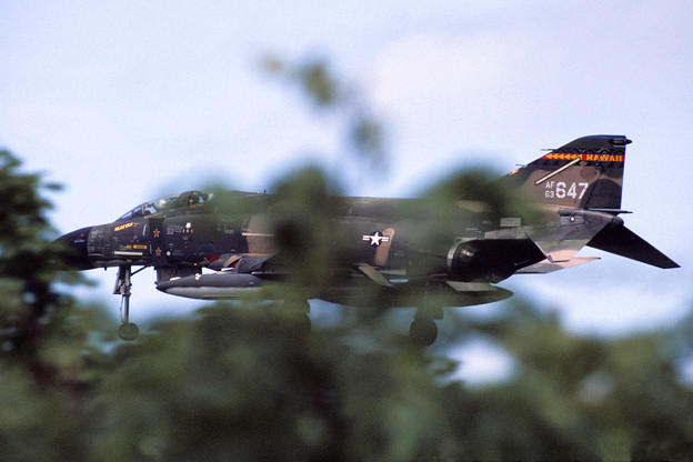 USAF F-4C 63-7647 199TFS Hawaii ANG RJSM1980