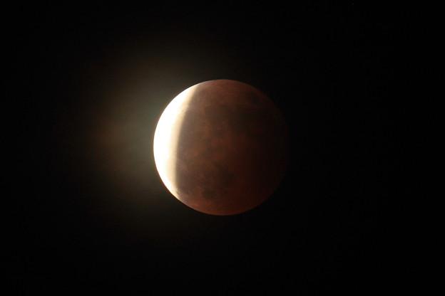 スーパームーンな月食 2021.05.26