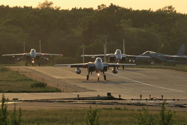 F-15 203sq Nightへ (1)
