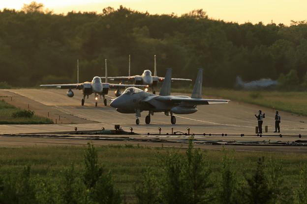 F-15 203sq Nightへ (2)
