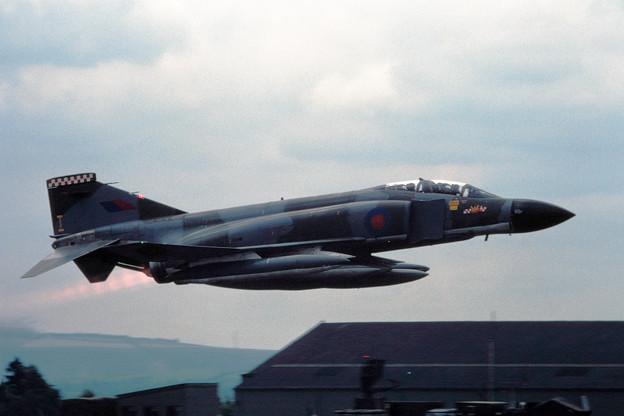 RAF F-4M PhantomFGR2 XV469 I 56SQN IAT1981