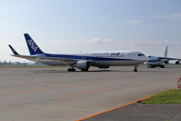 Wingletが付いたANA Boeing 767-381ER JA622A