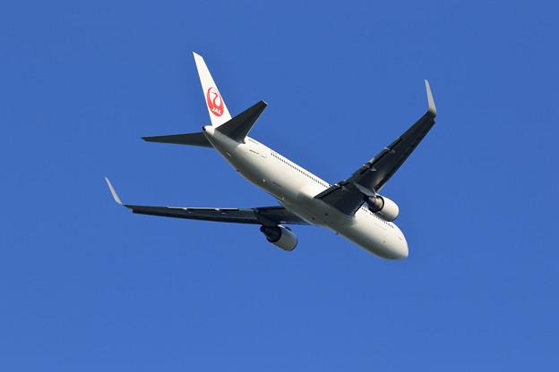 Wingletが付いたJAL Boeing 767-346ER JA606J