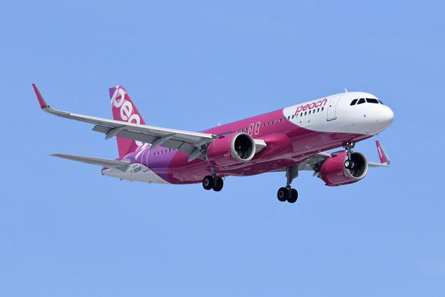 A320neo JA204P Peach