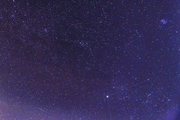 スバルとペルセウス座と流れ星??