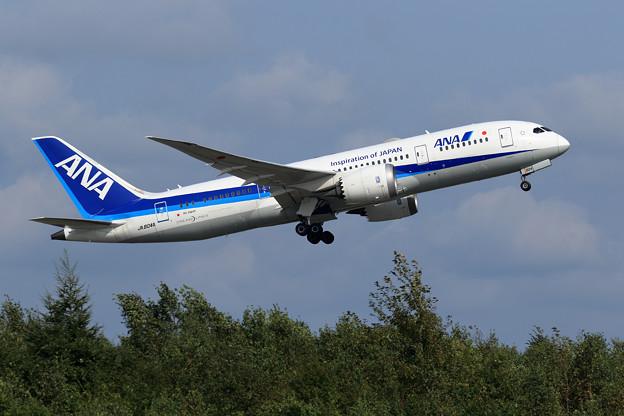 Boeing787 JA804A ANA taikeoff
