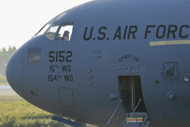 Boeing C-17A 5152 HH 15thWG,154thWG