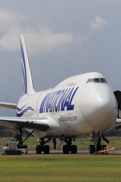 Boeing747-400F N702CA NationalCargo