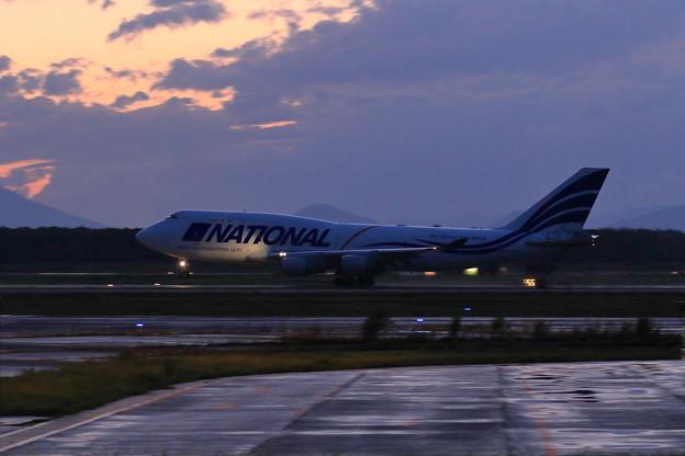 Boeing747-400F N702CA NCR takeoff