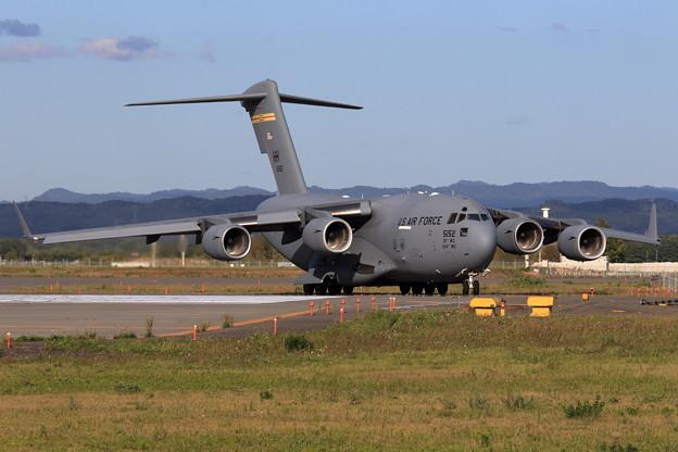 C-17A 5152 HH ふたたび飛来 2