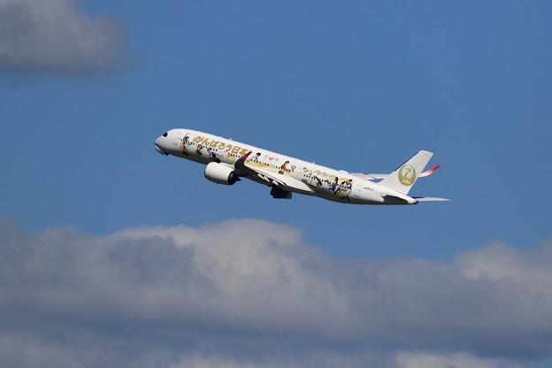 A350 JAL Tokyo 2020 がんばろう日本!JA06XJ