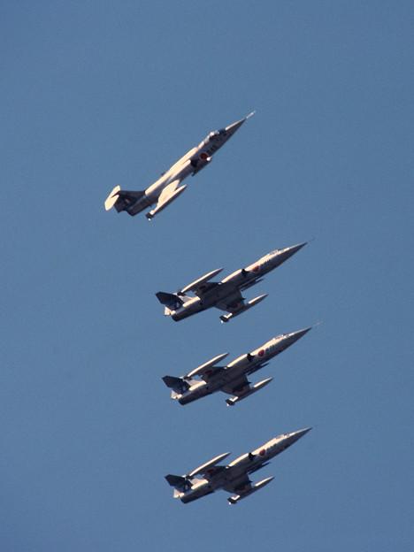 F-104J CTS 203sq Formation Break 1980