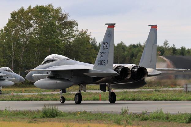 F-15C 67FS ZZ 嘉手納から展開