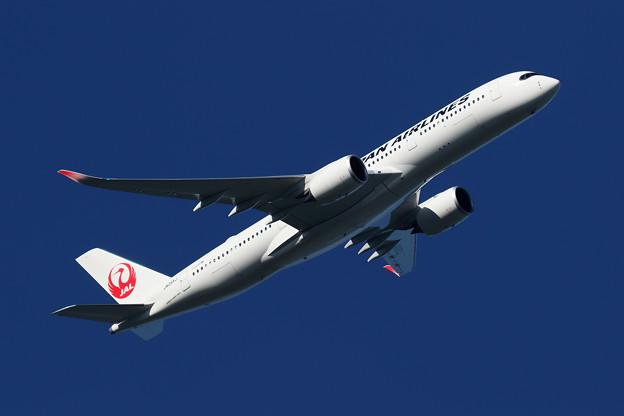 A350 JA09XJ JAL takeoff